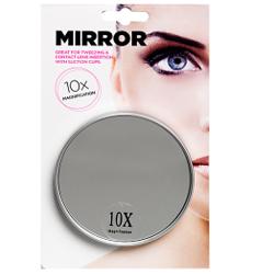 sminkspegel med förstoring och sugproppar