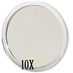 Sminkspegel Med 10 X Förstoring Sugpropp